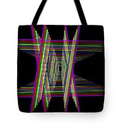 Kinetic Rainbow 16 Tote Bag