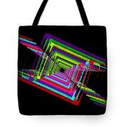 Kinetic Rainbow 17 Tote Bag