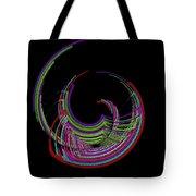 Kinetic Rainbow 18 Tote Bag