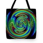Kinetic Rainbow 26 Tote Bag
