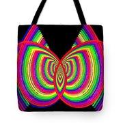 Kinetic Rainbow 27 Tote Bag