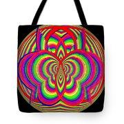 Kinetic Rainbow 28 Tote Bag