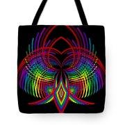 Kinetic Rainbow 30 Tote Bag
