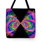 Kinetic Rainbow 38 Tote Bag