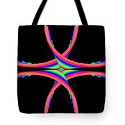Kinetic Rainbow 40 Tote Bag