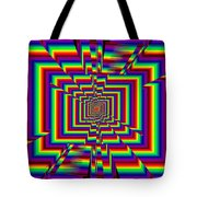 Kinetic Rainbow 42 Tote Bag