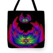 Kinetic Rainbow 45 Tote Bag