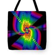Kinetic Rainbow 47 Tote Bag