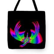 Kinetic Rainbow 49 Tote Bag