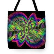 Kinetic Rainbow 55 Tote Bag