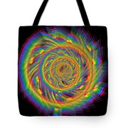 Kinetic Rainbow 60 Tote Bag
