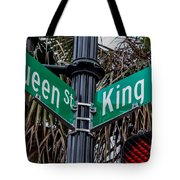 King And Queen Street Tote Bag