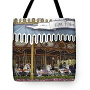 King Arthur Carrousel Fantasyland Disneyland Tote Bag