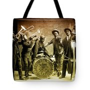 King Carter Jazzing Orchestra Tote Bag