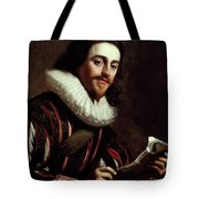 King Charles I Of England (1600-1649) Tote Bag