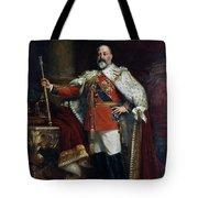 King Edward Vii Of England (1841-1910) Tote Bag