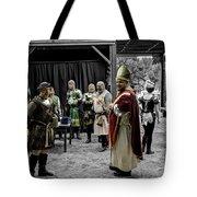King Macbeth Of Scotland With The Bishop Tote Bag