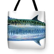 King Mackerel Tote Bag by Carey Chen