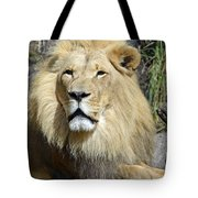 King Of Beasts Tote Bag