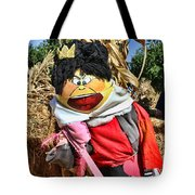 King Of Hearts Scarecrow By Diana Sainz Tote Bag