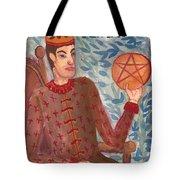 King Of Pentacles Tote Bag