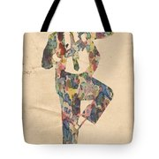 King Of Pop In Concert No 10 Tote Bag
