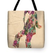 King Of Pop In Concert No 5 Tote Bag