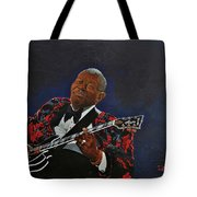 King Of The Blues Tote Bag