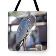 King Of The Boardwalk Tote Bag