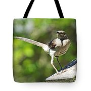 King Of The Feeder Tote Bag