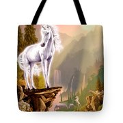 King Of The Valley Tote Bag