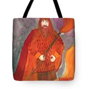 King Of Wands Tote Bag