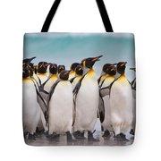 King Penguins Tote Bag