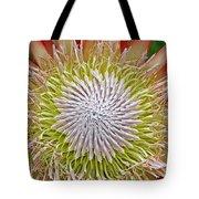 King Protea Flower Macro Tote Bag