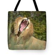 King Size Yawn Tote Bag