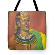 King Topiltzin Tote Bag by Lilibeth Andre