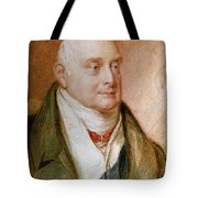 King William Iv Of England (1765-1837) Tote Bag