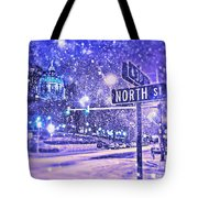 Kingdoms Of Heaven And Earth - Blue Tote Bag