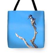 Kingfisher Perch Tote Bag
