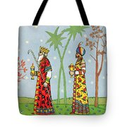 Kings With Gifts Tote Bag