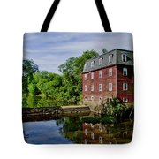 Kingston Mill Near Princeton New Jersey Tote Bag