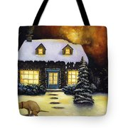 Kinkade's Worst Nightmare Tote Bag
