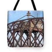 Kinnickinnic River Swing Bridge  4 Tote Bag