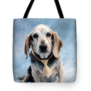 Kippy Beagle Senior And Best Dog Ever Tote Bag