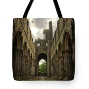 Kirkstall Abbey Tote Bag
