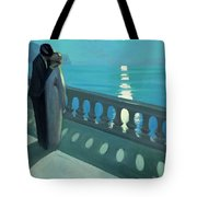 Kiss By Moonlight Tote Bag