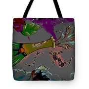 Kiss Me Hot Stuf Posterized Tote Bag