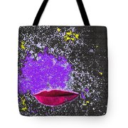 Kiss Me In Space Tote Bag