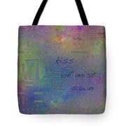 Kiss Of Mist Haiga Tote Bag