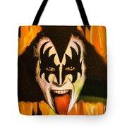 Kiss The Demon Tote Bag